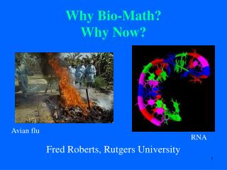 Why Bio-Math? Why Now?
