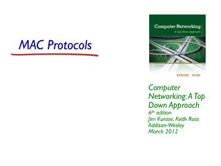 MAC Protocols
