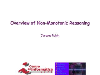 Overview of Non-Monotonic Reasoning