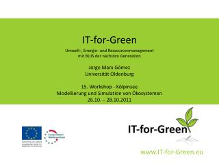 IT-for-Green