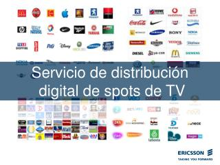Servicio de distribución  digital de spots de TV