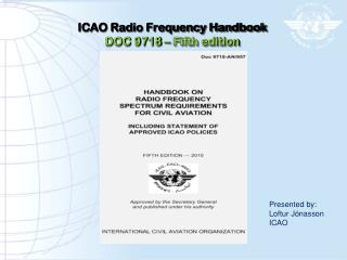 ICAO Radio Frequency Handbook DOC 9718 – Fifth edition
