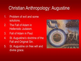 Christian Anthropology: Augustine