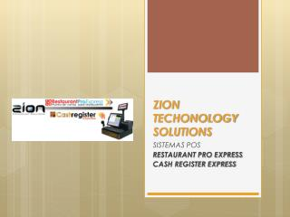 ZION TECHONOLOGY SOLUTIONS