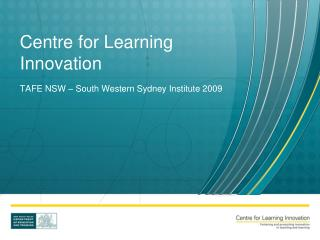 Centre for Learning Innovation
