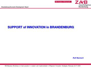 Brandenburg Economic Development  Board