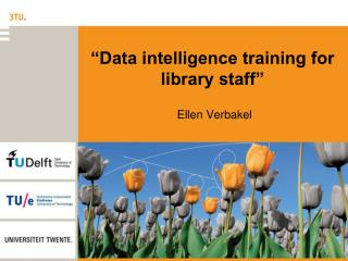 """Data intelligence training for library staff"""