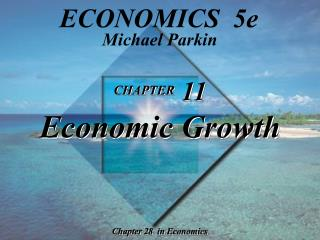 CHAPTER  11 Economic Growth