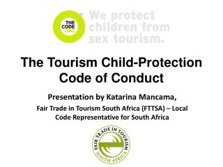The Tourism Child-Protection Code of Conduct