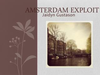 Amsterdam Exploit