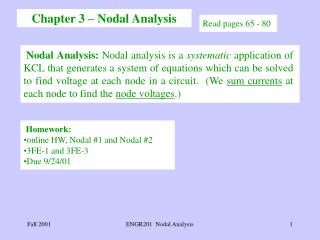 Chapter 3 – Nodal Analysis