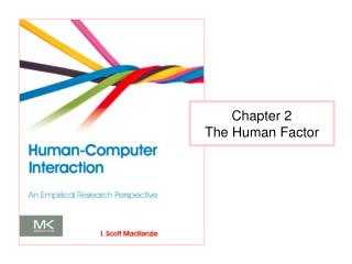 Chapter 2 The Human Factor