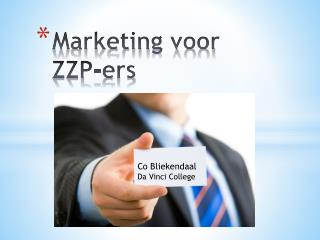 Marketing voor ZZP- ers