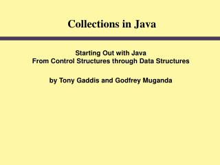 Collections in Java