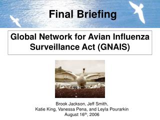Global Network for Avian Influenza Surveillance  Act  (GNAIS)