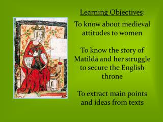 What do these images tell us about women in the medieval times ?