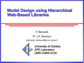 Model Design using Hierarchical Web-Based Libraries