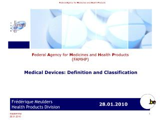 Federal Agency  for Medicines and Health Products