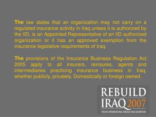 CAPITAL REQUIREMENTS FOR INSURANCE COMPANIES The Minimum Guarantee Fund should not be less than: