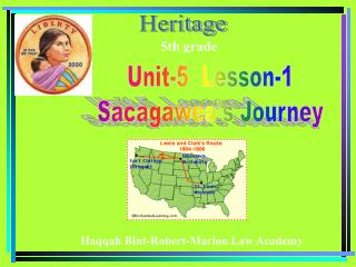 Unit-5  Lesson-1 Sacagawea's Journey