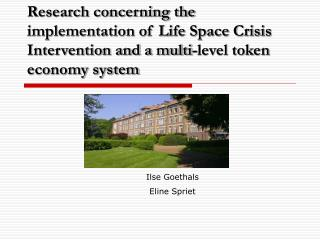 Research concerning the implementation of Life Space Crisis Intervention and a multi-level token economy system