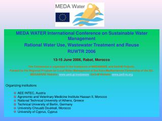 MEDA WATER International Conference on Sustainable Water Management