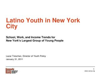 Latino Youth in New York City
