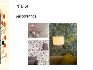 INTD 54 wallcoverings
