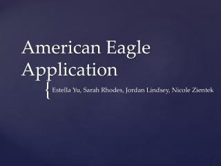 American Eagle Application