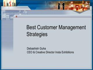 Best Customer Management  Strategies