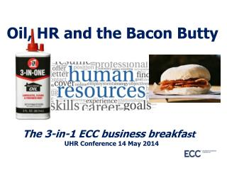 Oil, HR and the Bacon Butty