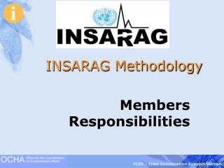 INSARAG Methodology