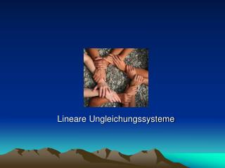 Lineare Ungleichungssysteme