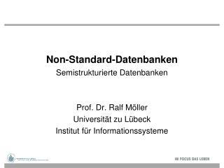 Non-Standard-Datenbanken
