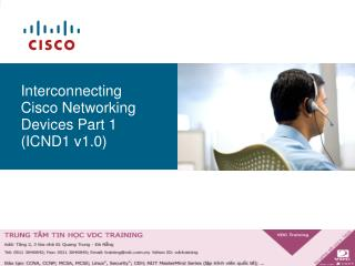 Interconnecting  Cisco Networking  Devices Part 1 (ICND1 v1.0)