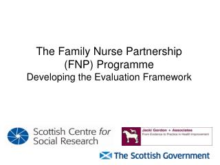 The Family Nurse Partnership  (FNP) Programme Developing the Evaluation Framework