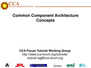 Common Component Architecture Concepts