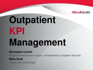 Outpatient  KPI  Management