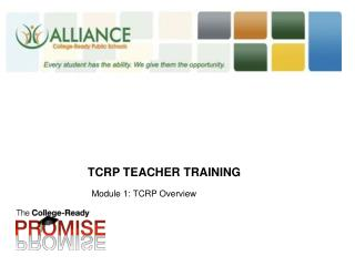 TCRP Teacher Training