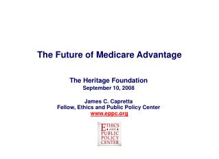 The Future of Medicare Advantage