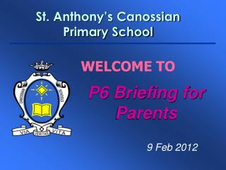 St. Anthony's Canossian Primary School