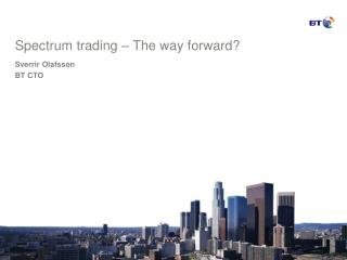 Spectrum trading – The way forward?