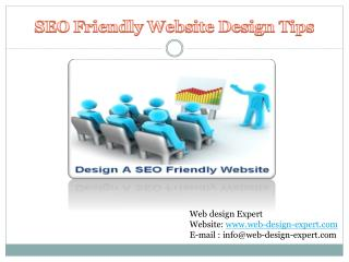 How to Design a SEO Friendly Website