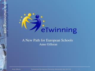 A New Path for European Schools