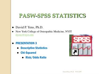 PASW-SPSS STATISTICS