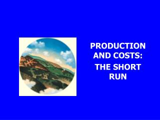 PRODUCTION AND COSTS: THE SHORT RUN