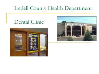 Iredell County Health Department  Dental Clinic