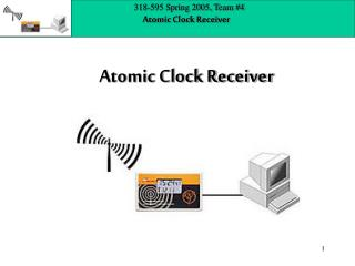 Atomic Clock Receiver