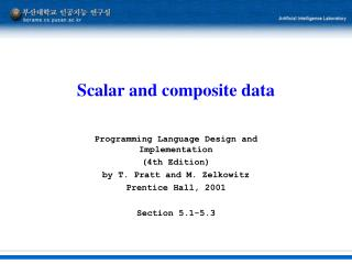 Scalar and composite data