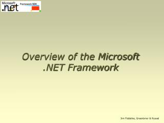 Overview of the Microsoft .NET Framework